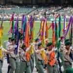 香港童軍大會操
