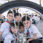 幼童軍邊境單車遊